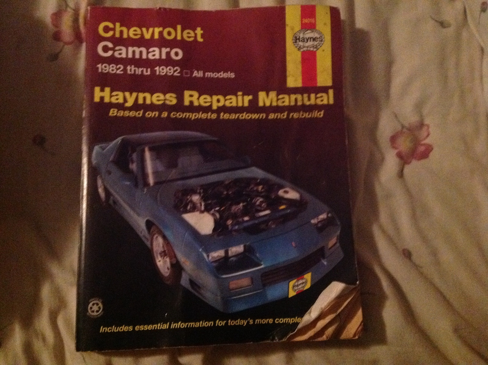 Chevrolet Camaro Questions 1988 Irocz28 Not Getting Fuel 1970 Wiring Diagram Haynes 1 People Found This Helpful
