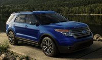 2015 Ford Explorer, Front-quarter view, exterior, manufacturer