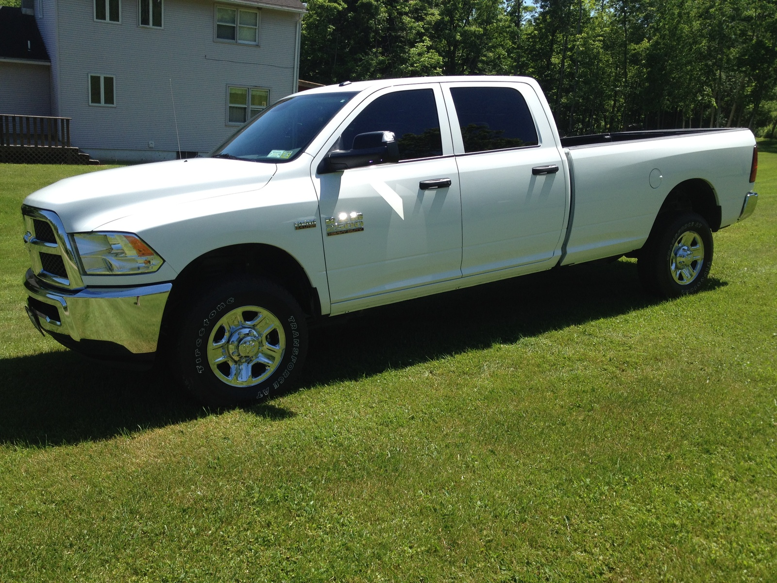 Picture of 2014 Ram 2500 Tradesman Crew Cab 8 ft. Bed 4WD, exterior