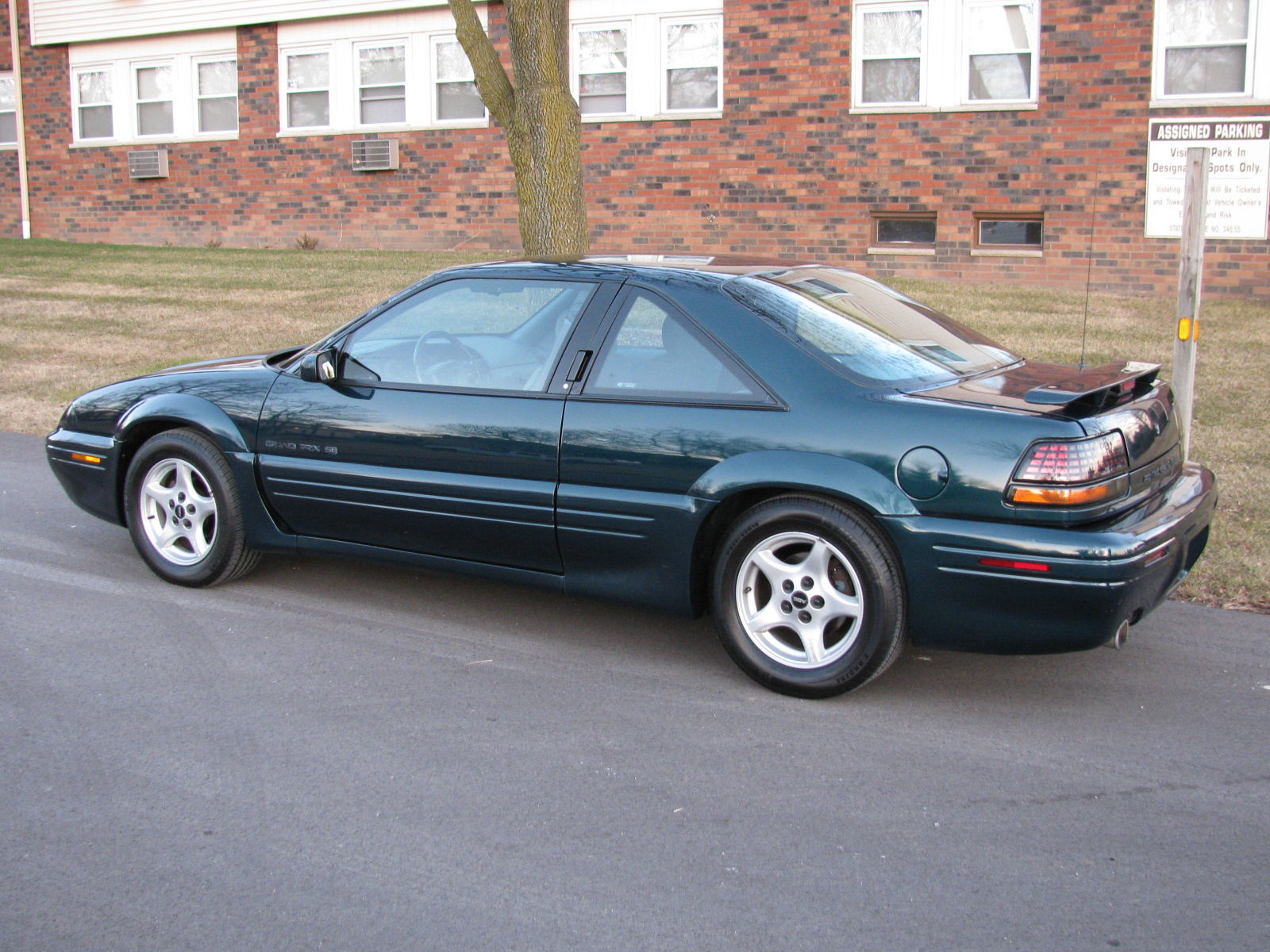 Picture of 1995 Pontiac Grand Prix 2 Dr SE Coupe