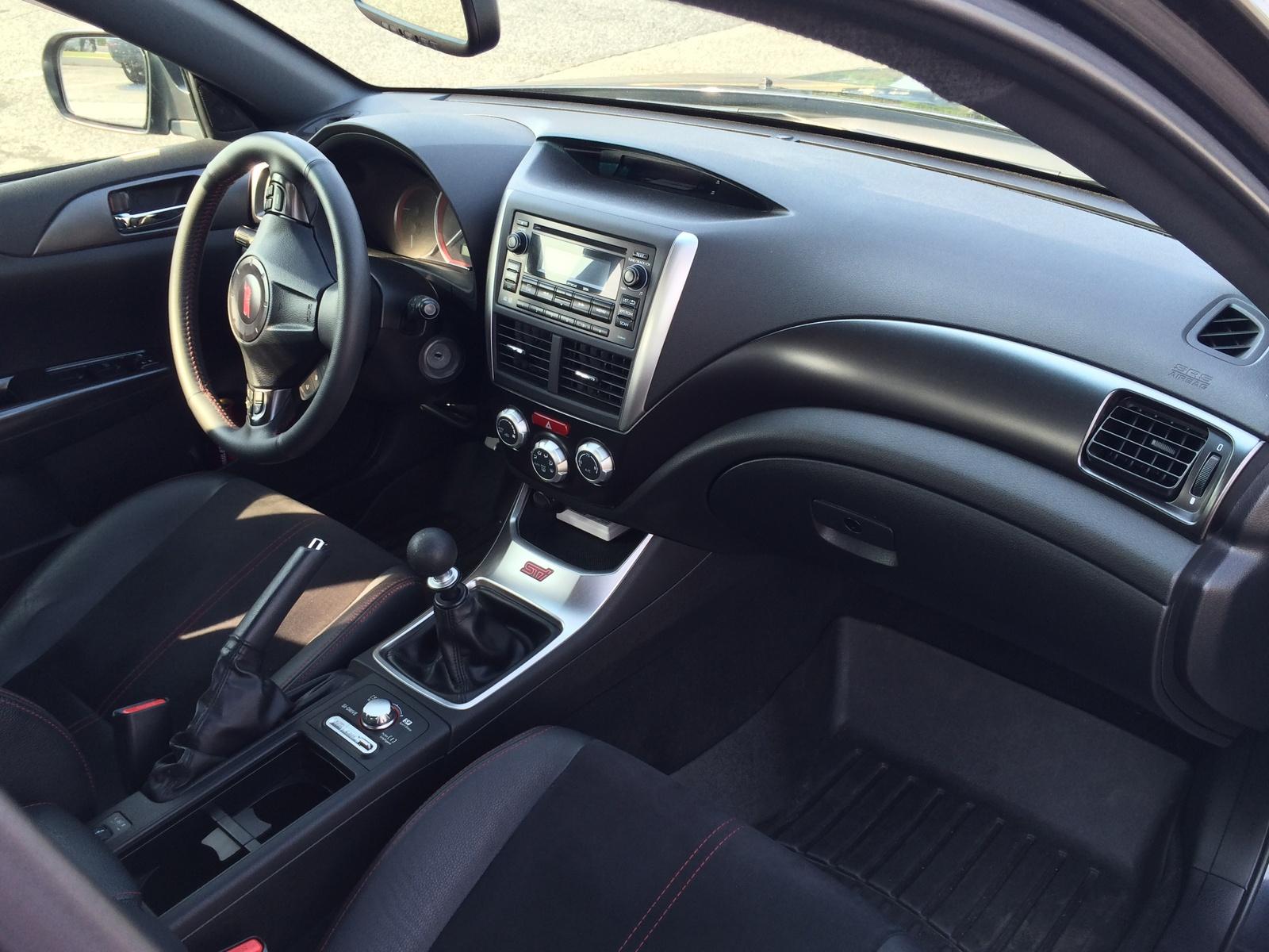 2011 Subaru Impreza Wrx Sti Interior Pictures Cargurus
