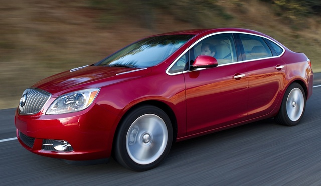 2015 Buick Verano, Front-quarter view. Copyright General Motors, exterior, manufacturer
