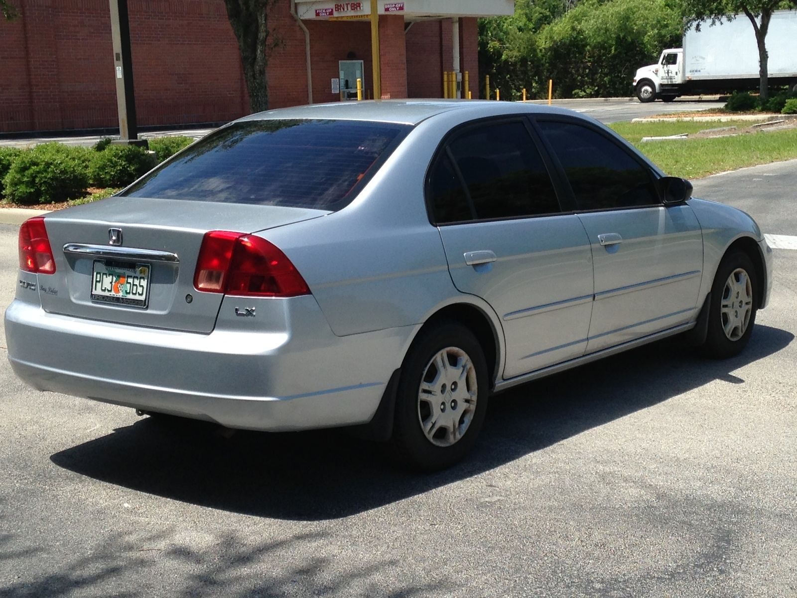 picture of 2002 honda civic lx exterior