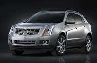 2015 Cadillac SRX, Front-quarter view. Copyright General Motors, exterior, manufacturer, gallery_worthy