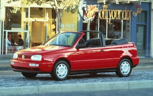 1997 Volkswagen Cabrio 2 Dr Highline Convertible picture