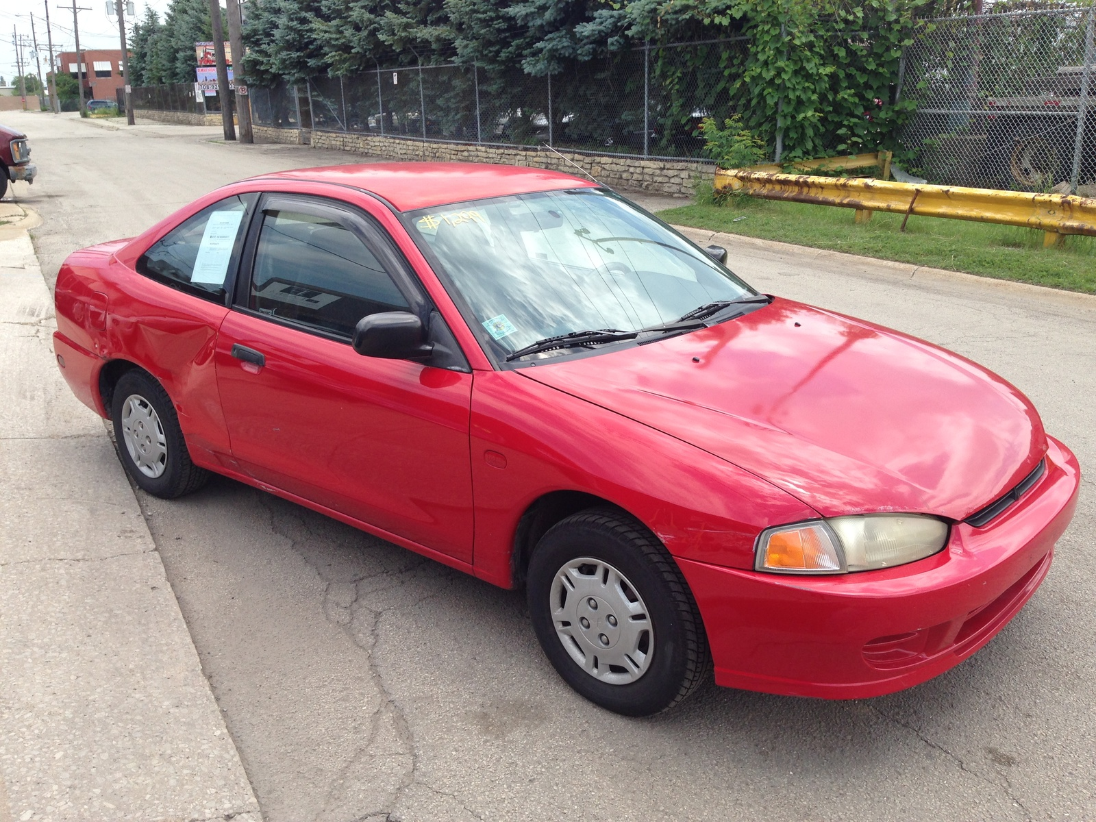 1999 Mitsubishi Mirage DE Coupe picture