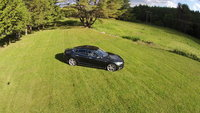 2013 Tesla Model S, Aerial View 2, exterior, gallery_worthy