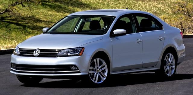 2015 Volkswagen Jetta, Front-quarter view, exterior, manufacturer