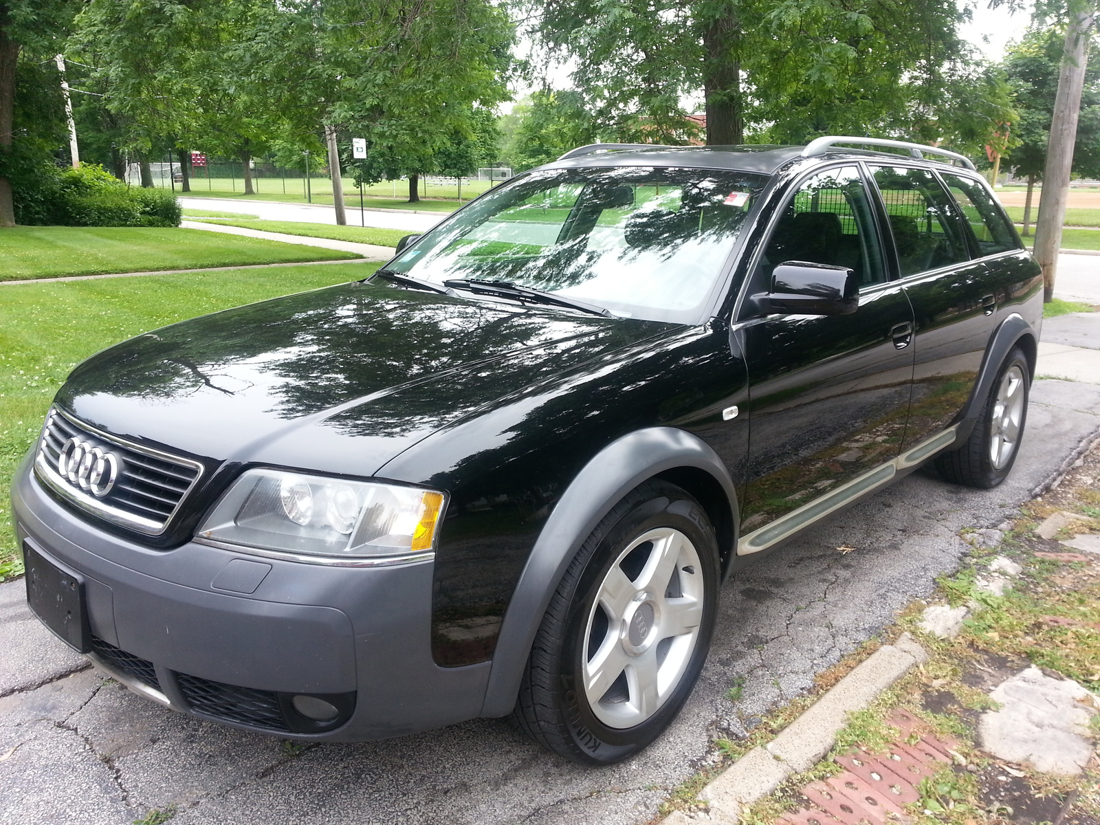 picture of 2001 audi allroad quattro 4 dr turbo awd wagon. Black Bedroom Furniture Sets. Home Design Ideas
