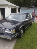 Picture of 1988 Cadillac DeVille Base Sedan, exterior