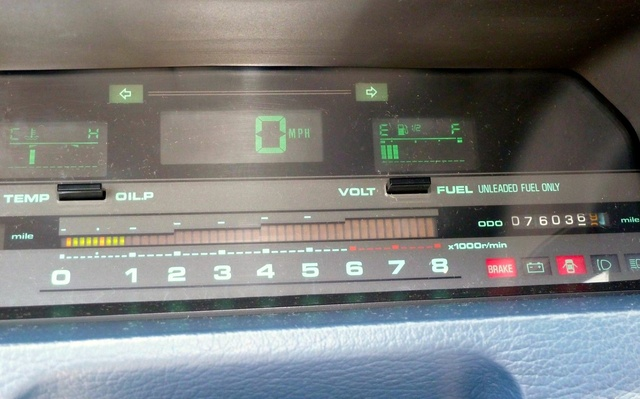 Picture of 1985 Nissan 200SX XE Coupe, interior, gallery_worthy