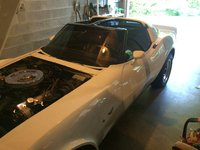 Picture of 1979 Chevrolet Corvette Coupe, exterior, engine