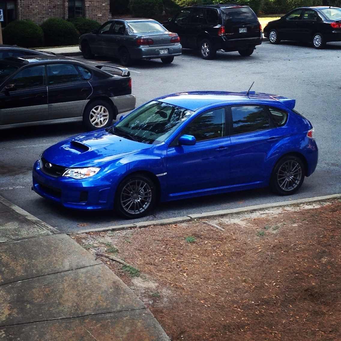 picture of 2014 subaru impreza wrx hatchback exterior. Black Bedroom Furniture Sets. Home Design Ideas