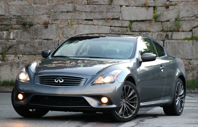 Front 3/4 of the 2014 Infiniti Q60S