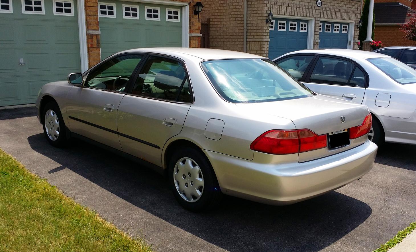 Honda Accord 2014 Coupe V6 >> 1999 Honda Accord - Pictures - CarGurus