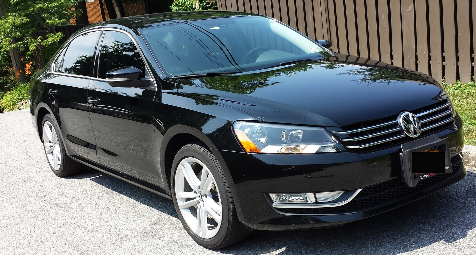 picture of 2013 volkswagen passat tdi sel premium exterior. Black Bedroom Furniture Sets. Home Design Ideas