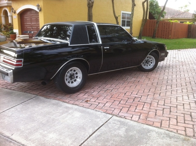 Picture of 1987 Buick Regal Grand National Turbo Coupe, exterior