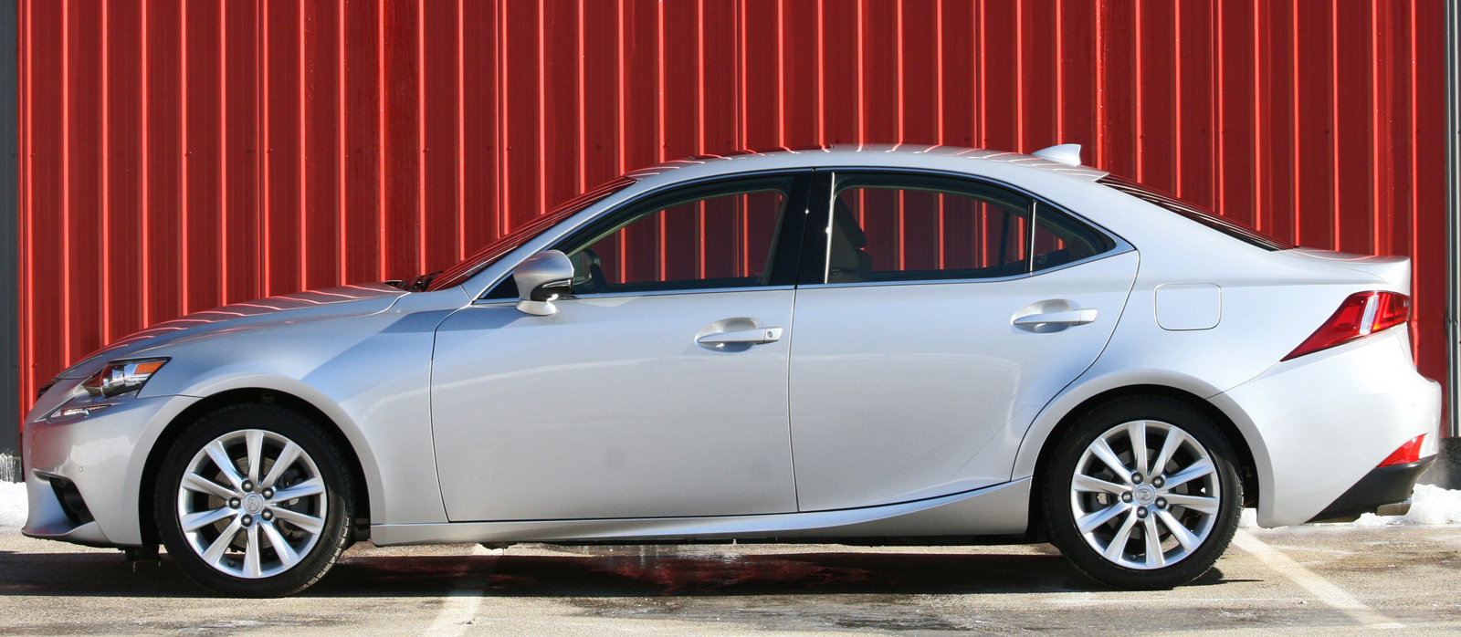 2014 Lexus IS 250 exterior side profile