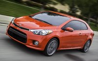 2015 Kia Forte Koup, Front-quarter view, exterior, manufacturer, gallery_worthy
