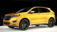 2015 Ford Edge, Front-quarter view, exterior, manufacturer, gallery_worthy