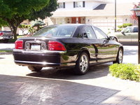 2002 Lincoln LS V8 Premium, Rear Passenger side view, exterior