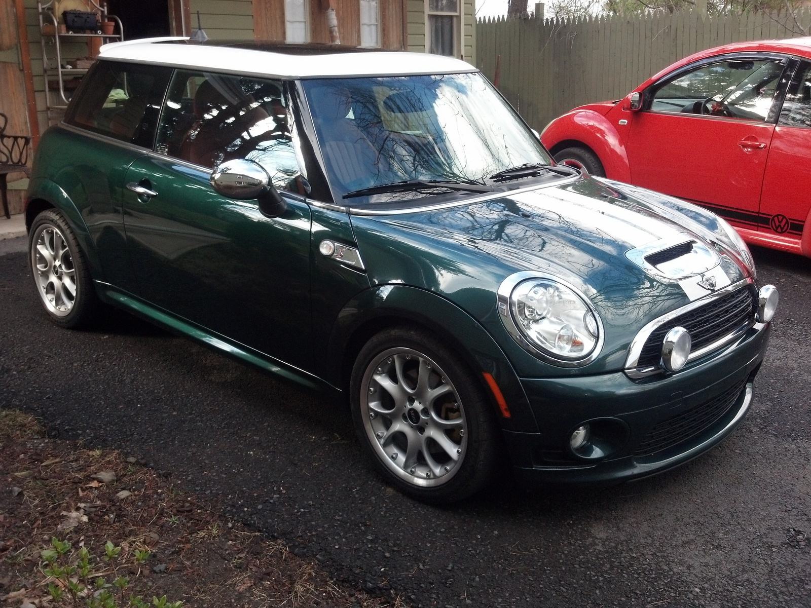 picture of 2009 mini cooper s exterior. Black Bedroom Furniture Sets. Home Design Ideas