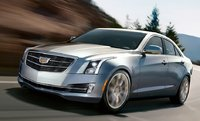 2015 Cadillac ATS, Front-quarter view. Copyright General Motors, exterior, manufacturer, gallery_worthy