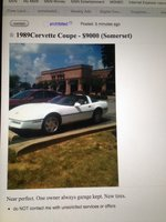 1989 Chevrolet Corvette Coupe, Beautiful car, exterior