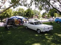 1967 Mercury Comet, Cash Valley Cruis In - July 2014., exterior