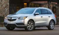2015 Acura MDX, Front-quarter view, exterior, manufacturer