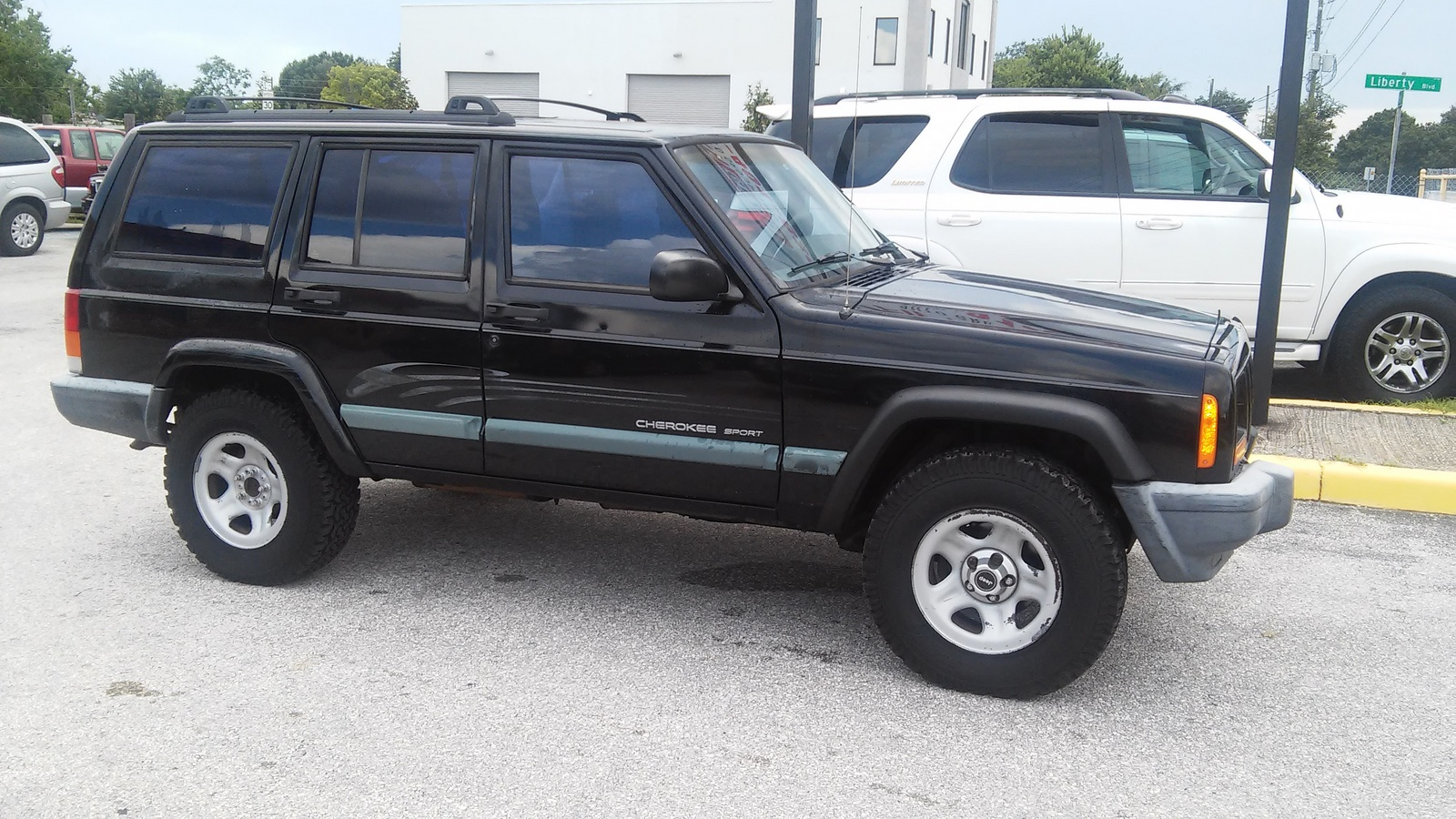 picture of 1999 jeep grand cherokee limited exterior. Black Bedroom Furniture Sets. Home Design Ideas