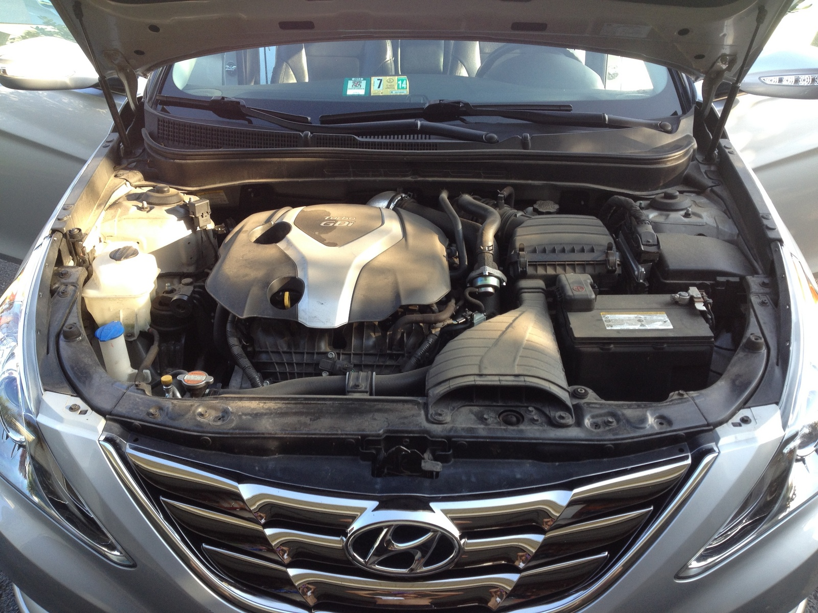 Picture of 2012 Hyundai Sonata 2.0T Limited, engine