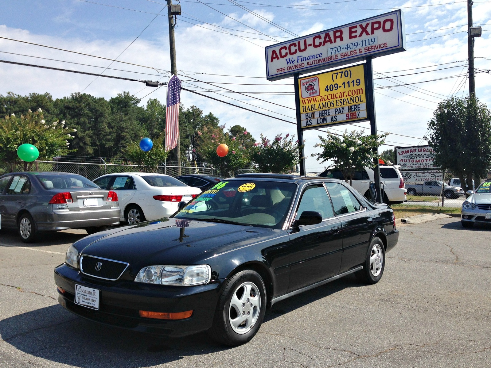 1996 Acura TL 3.2 Sedan picture