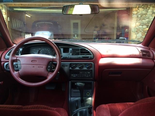 1995 Ford Contour Interior Pictures Cargurus