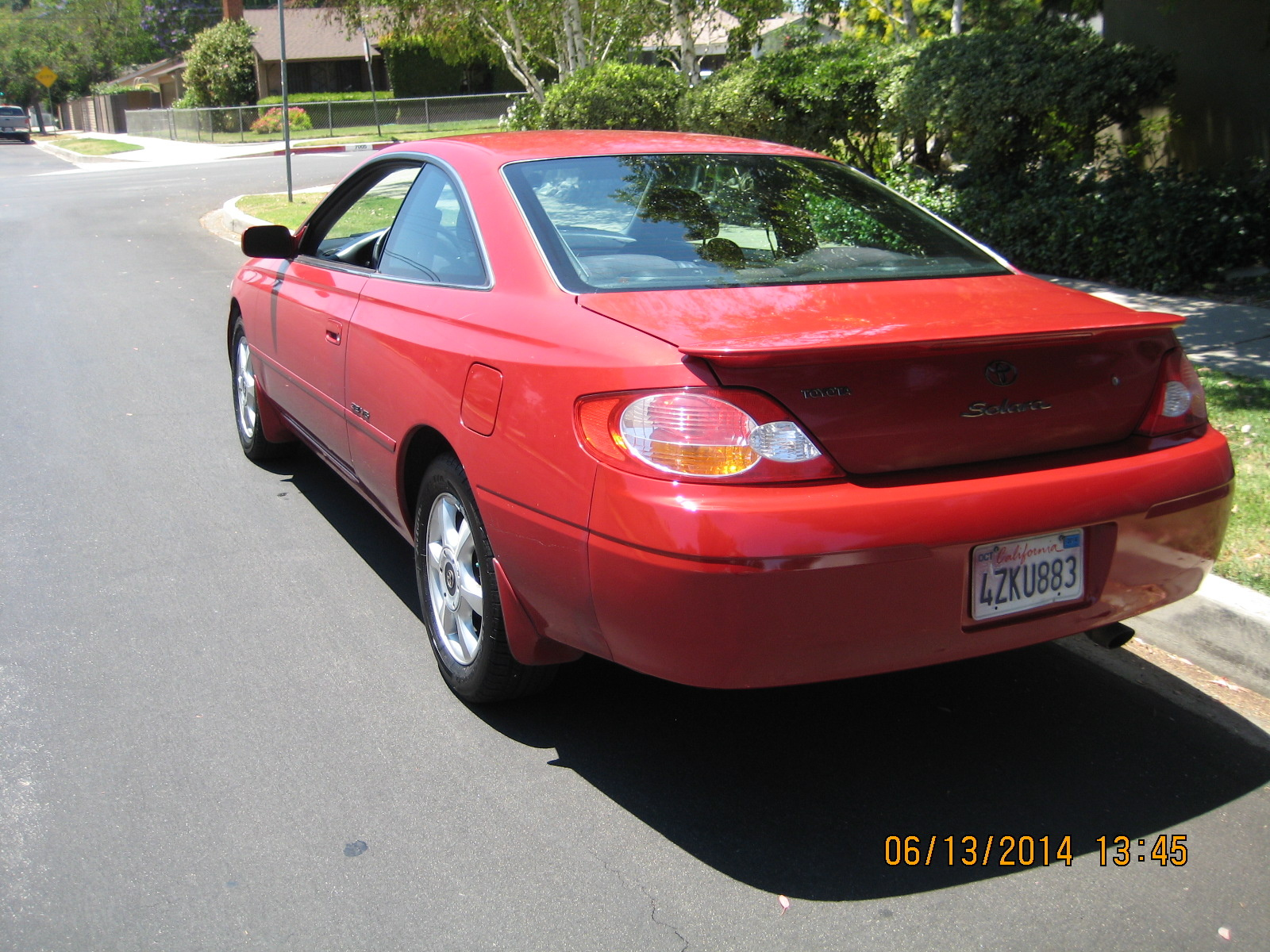 Picture of 2002 Toyota Camry Solara SE V6 Coupe