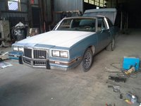 1987 Pontiac Grand Prix STD, This is my driver before I repainted it., exterior
