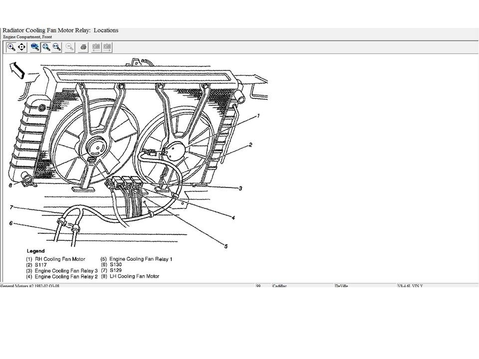 Cadillac DeVille Questions - My cooling fans arent coming on like ... 4.6 northstar engine diagram CarGurus