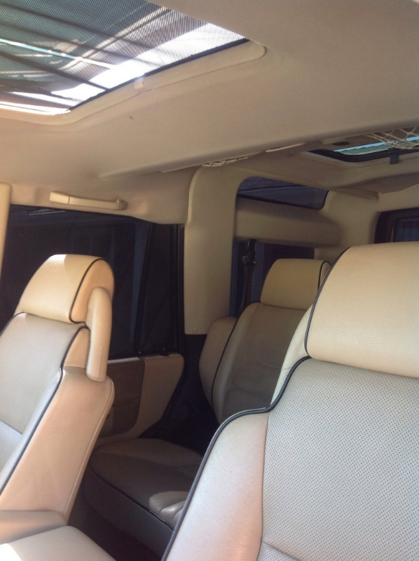 2004 Land Rover Discovery Interior