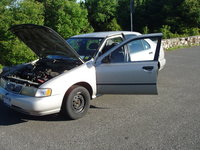 Picture of 1996 Nissan Sentra GXE, engine, exterior