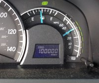 2012 Toyota Camry XLE, well, there it is...100,000  miles.  I expect to see 200,000 before I give it to my daughter, interior
