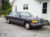 1991 Mercedes-Benz 420-Class Overview