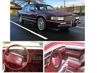 1990 Cadillac DeVille Base Sedan picture