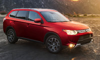 2015 Mitsubishi Outlander, Front-quarter view, exterior, manufacturer, gallery_worthy