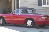 1991 Alfa Romeo Spider Picture Gallery