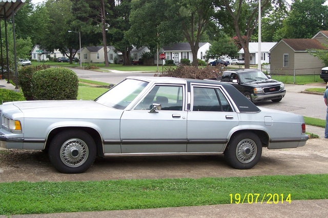 Picture of 1991 Mercury Grand Marquis 4 Dr GS Sedan