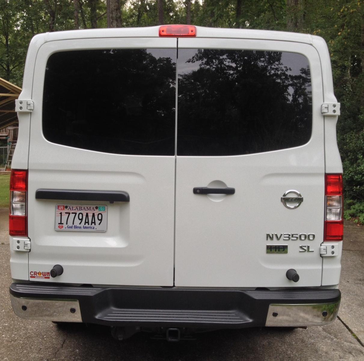 2016 Nissan Nv3500 Hd Passenger Exterior: 2013 Nissan NV Passenger
