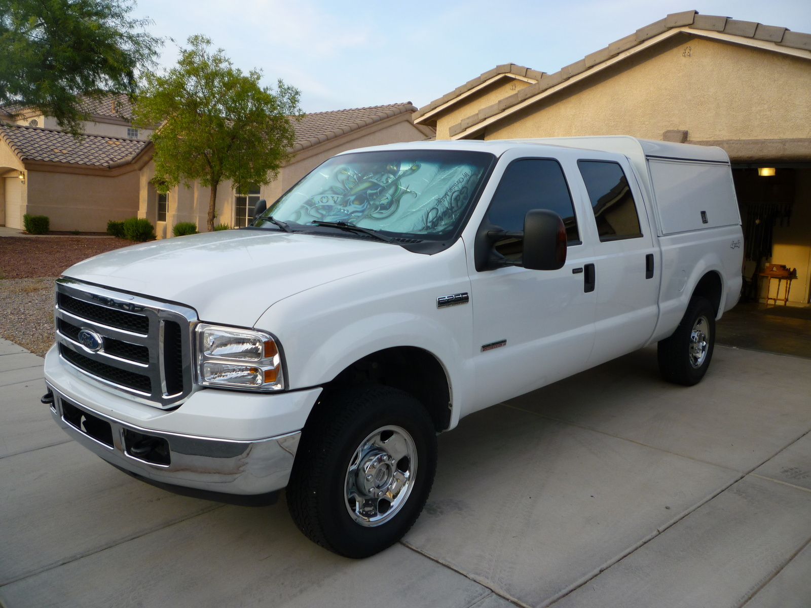 picture of 2007 ford f 250 super duty xlt crew cab 4wd exterior. Black Bedroom Furniture Sets. Home Design Ideas
