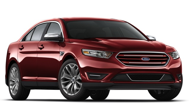 2015 Ford Taurus, Front-quarter view, exterior, manufacturer