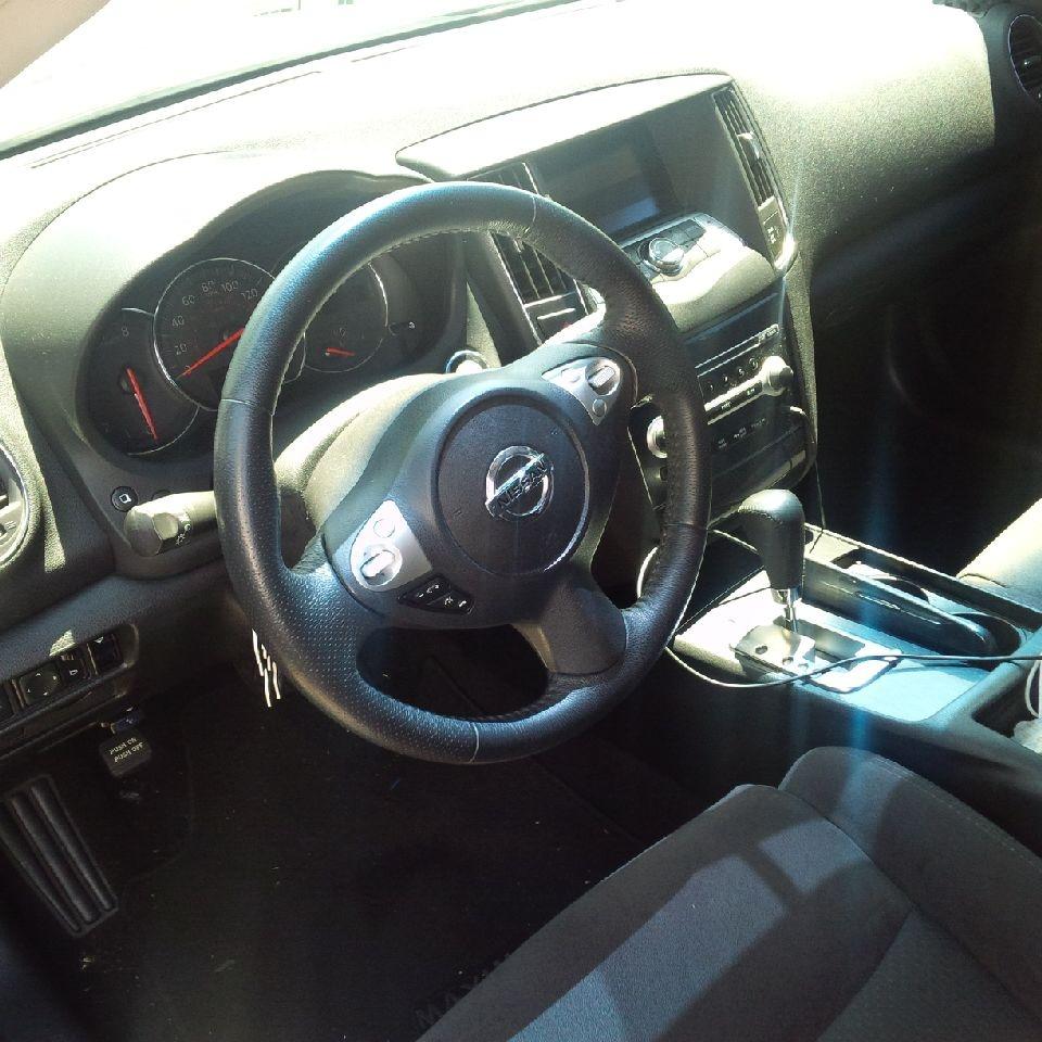 2014 Nissan Sentra Interior: 2014 Nissan Maxima