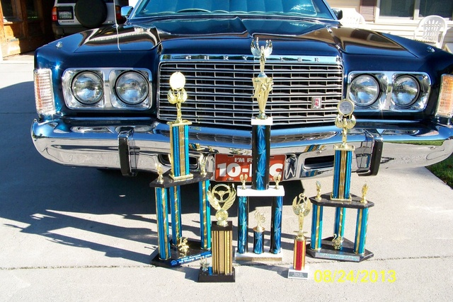 1975 Chrysler Newport, Trophies through 2013, exterior